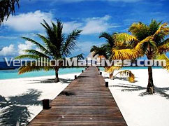 Arrival Jetty of Coco Palm Bodu Hithi – Maldives Hotel Island