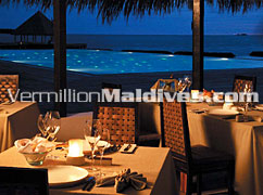 Dinner in Coco Palm Bodu Hithi – Maldives Luxury Island