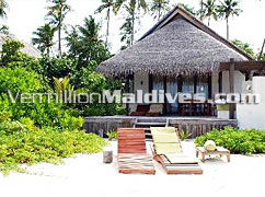 Island Villas of Coco Palm Bodu Hithi. Maldives Island hotel