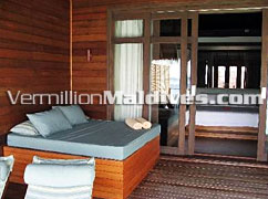 Lovely Day Beds in Coco Palm Bodu Hithi Maldives