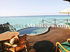 Private Terrace for your dream luxury vacation