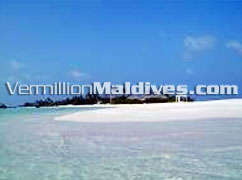 Beautiful Lagoon & white Sandy beaches offers you 100% Maldives holiday