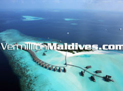 Aerial View / Picture of Cocoa Island Resort Hotel Maldives