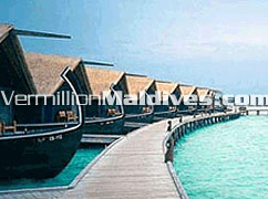 Dhoni Suites of Cocoa Island Resort Hotel.. The Maldives Paradise