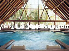 Hydrotherapy Pool in Cocoa Island – Leisure Spa Resort of Maldives