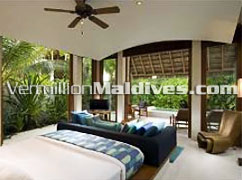 Beach Villa : Good rates available for this five star resort Conrad Maldives