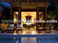 Deluxe Beach Villas feature a private plunge pool: Book the Special offers