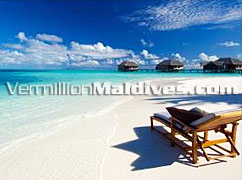 Forget everything and enjoy the nature in Sunny Maldives Resort Conrad