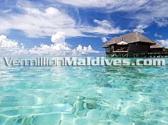 Only Destination Spa in the Maldives with 21 Spa Water Villas inclusive of own private treatment room and direct access to The Spa Retreat