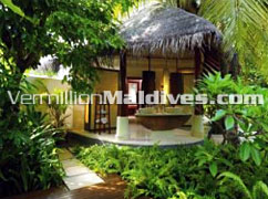 Beach Villa - Constance Halaveli – Maldives Luxury Resort Island