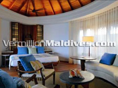 Constance Hotel - Picture of Water villa Interior – Maldives Island Resort