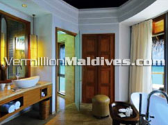 Luxury resort Halaveli - Constance Hotel in Maldives