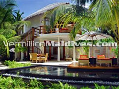 Pool - beach Villa - Constance Halaveli – Honeymoon Special Resort in Maldives