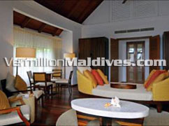 Room Interior - Constance Halaveli – One of the Best Resort hotels of Maldives