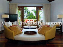 OSitting Room - Constance Halaveli – Maldives Hotel built for Luxury