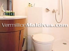 Bathroom Dhoni Island Beach Bungalows Maldives Deluxe Resorts