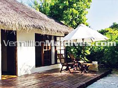 Beach Bungalow: Get a Special deal enjoy in Private Dhoni Island Maldives