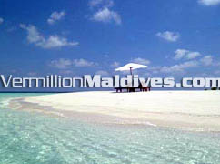 Maldives Dhoni Island Beach. Beautiful white Sandy beach and waters