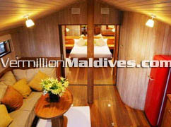 Dhoni Slumber Living Room: For your Maldives Honeymoon Vacation