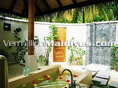 Bath Room of Villas - DIVA Maldives – known for its beauty