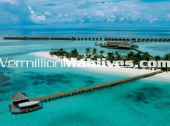 Aerial picture of DIVA Maldives Resort – Naiade Hotel in Maldives