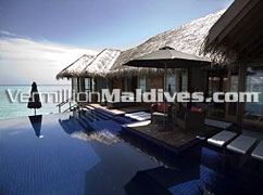 Private pool in your Villa at DIVA Maldives. Perfect Luxury Honeymoon Retreat