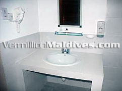 Bathroom Superior Bungalows Embudhu Village Hotels Maldives Vacations