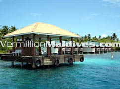Embudu Village. Maldives Tourist Resort Hotel