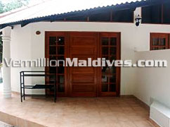 Simple accommodations at Embudu Village Maldives Hotels