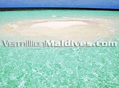 Offers Sandbank Vacations during  your stay at Maldives Eriyadhu Island