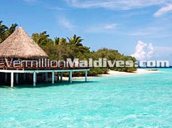 Overwater Restaurant at Eriyadhu Maldives four star Resort
