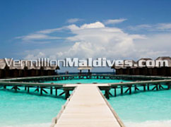 Water Bungalows in Fihaalhohi for a perfect Honeymoon Holiday