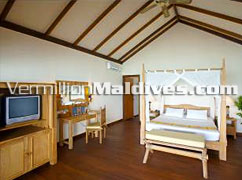 Interior Water Villas FIlitheyo Maldives Luxury Accommodations