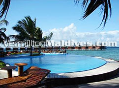 Pool & Water Villas at Faafu Atoll Resort Filitheyo Maldives
