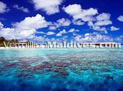 Water Villas at this beautiful lagoon of Filitheyo Maldives