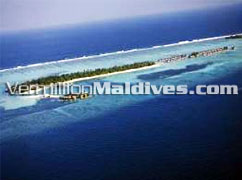 Aerial View Picture of Four Seasons Resort Hotel Kuda Hura Maldives