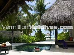 Beach Pavillion with Pool: Ideal for a Maldives Honeymoon