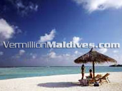 Beautiful Beach at Four Season Maldives Island Resort & Spa