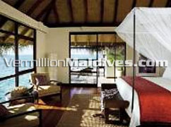Two Bedroom Water Bungalow for Family Holidays in Maldives