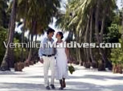 Arrival Pathway at Five star Luxury Deluxe hotel Four Seasons Landaa Maldives