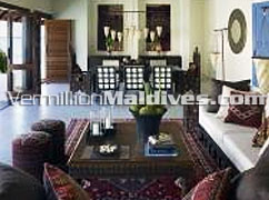 Koimala Land and Ocean Villa Living Room: Book with the Best Family Packages