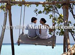 Promises are on the Swing at Four seasons Maldives. Share lovely moments