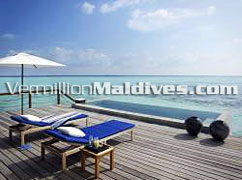 Two Bedroom Water Villa with Pool Deck Four Seasons Maldives