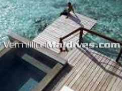 Water Villa with Pool Deck: A best Maldives Honeymoon Resort