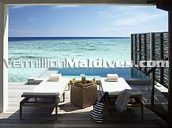 Water Villa with Pool: Perfect accommodation for a Maldives Holidays