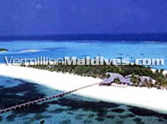 Aerial Picture of Fun Island Resort Maldives