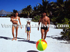 Beautiful Beach resort Fun Island Resort Hotel Maldives