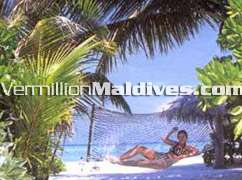 Book your Maldives hammock via a local Maldives Agent or operator