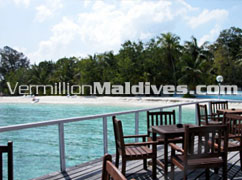 Open Air Restaurant at Giraavaru Maldives - Resort Vacations and Holiday deals in Maldives