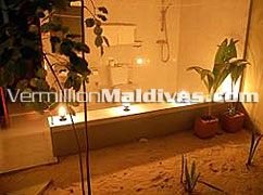 Dhuniye Spa at Helengeli Island Resort Maldives. A Spa beach resort Maldives